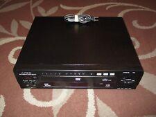 Apex 3-Disc Carousel DVD / Karaoke Player Model AD-5131 *Works Great*