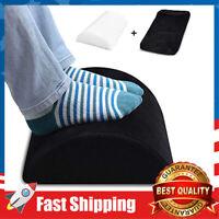 Foot Rest Under Desk Soft Yet Firm Foam Foot Cushion Foot Stool Non-Slip Pillow