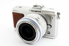 Olympus PEN E-P2 12.3MP 14-42mm Lens Kit Silver [Exc+++] w/8GB SD Card [525]