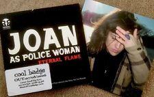 Joan As Police Woman (2xCD Bundle) Promo CD Eternal Flame 2006 & Real Life 2006