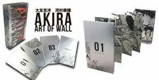 Akira Art of Wall Katsuhiro Otomo / 4 Book Set Panorama Illustration Anime Manga