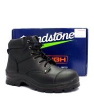 Blundstone PU TPU lace Up Steel Cap Boot Style 313 Size 7 Mens