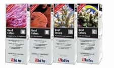 Red Sea Reef Colours 100ml Quad Pack 1 of A, B, C AND D Coral Colour Supplement