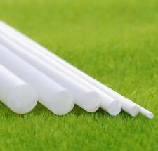 US Stock 10x ABS Styrene Plastic Round Bar Rod Dia 4mm length 9.8