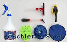 SchleTek Felgenreiniger 1L für Alu und Stahl Felgen + Autopflege Set 5-teilig