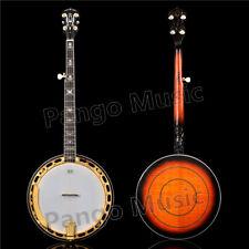 PANGO 5 strings Gold color Banjo of Pango Music Banjo factory (PBJ-900)
