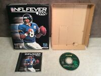 NFL Fever 2000 PC Game Big Box Complete 1999 Microsoft Windows 95/98