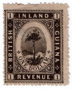 (I.B) British Guiana Revenue : Inland Revenue $1