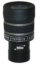"Seben Zoom Telescope Eyepiece 7.5-22.5mm 1.25"" 31.7mm SZ1 Astronomy"