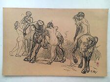 Heinrich KLEY Nudes Print 1914 Limited Ed.  Leo S. Olschki/ Degli Uffizi Italy