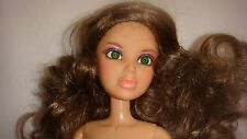 LIV DOLL Spin Master  Original Wig Coral Lips Green Eyes, Jointed Nude