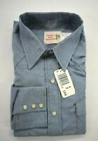 Vintage Saddle King Western Key Mens Long Tail Blue Long Sleeve Pearl Snap Shirt