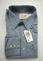 Vintage Saddle King Western Key Mens Long Tail Blue Long Sleeve Pearl Snap Shirt