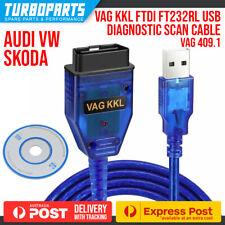 VAG KKL OBD2 USB DIAGNOSTIC CABLE FTDI FT232RL CHIP VW AUDI SKODA 409.1
