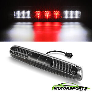 For 2007-2013 Chevy Silverado GMC Sierra Smoke LED Len Third 3rd Brake Light