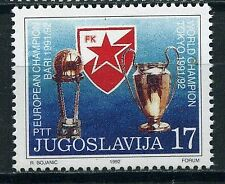 1992 Joegoslavië 2522 Rode Ster Belgrado wint Europacup