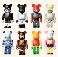 Medicomtoy Bearbrick 100% SPC Collaboration Limited 8 set (with case)