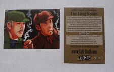 Sherlock Holmes  the long Stories exclusive promo card   by Cult-Stuff