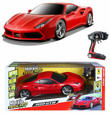 "1:6 Scale Ferrari 488 GTB Maisto Special Remote Control RC Car Huge 22"" Long NEW"