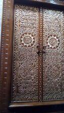 Hand Carved Teak Wood Arabic Calligraphy Kaaba Door - Pre Order