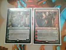 Vivien and Lukka Planeswalkers from Ikoria MtG Mythic NM