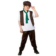 Child VICTORIAN SCHOOL BOY Chimney Sweep Fancy Dress Book Week Costume 3-13 Yrs
