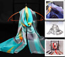 100% Mulberry Silk Womens Long Scarf Lady Shawl Wraps Cape Scarves Fast Post