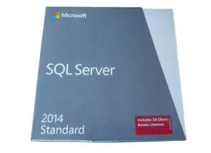 SQL 2014 W/ 10 CLIENT ACCESS LICENSES