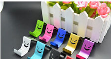 1x HOT Universal MINI Devil Smiley Suction Cup Stand Holder Metal For CellPhone