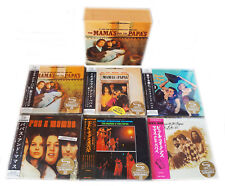 The Mamas & The Papas - 6 Mini LP SHM CD Japan 2013 + Promo-Box RARE OOP MINT!!!