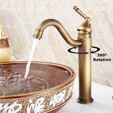 Vintage Copper Brass Mixer Tap Bath Kitchen Basin Sink Faucet Bathroom Antique