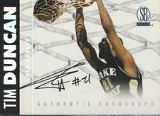 Tim Duncan 1997 The Score Board autograph auto card