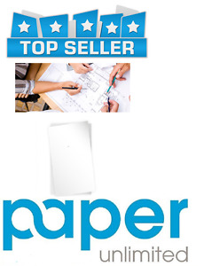 "Paper Unlimited 750 Sheets 13"" x 19"" 20 lb Bond Plotter Paper Inkjet 92 Bright"