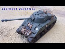 28mm British Sherman Firefly In Resin By Blitzkreig WWII Bolt Action,