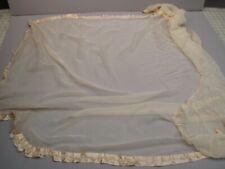 Antique Victorian Gossamer silk remnant