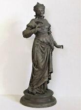 Antique Spelter Figurine Statue