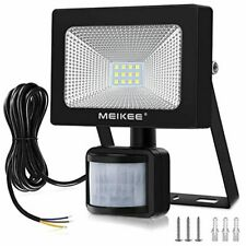 MEIKEE Security Lights with Motion Sensor, 10w Led Sensor Outdoor Light, IP66 Wa