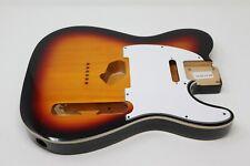 Eden® Premier Series Alder Tele Guitar Body HS 3 Tone Sunburst with Binding