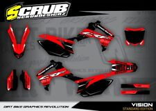 Honda CRF Dekor Grafik set 250 450 R 2013 2014 2015 2016 2017 '13 - '17 - SCRUB