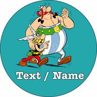 Asterix & Obelix Eßbar Tortenbild Tortenaufleger NEU Party Deko personalisiert