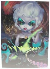 NEW Disney WonderGround Ursula Jasmine Becket-Griffith 5x7 Postcard