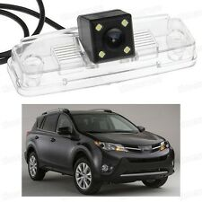 4 LED Car Rear View Camera Reverse Backup Parking CCD for Toyota RAV4 2014 2015