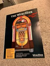 11- 8 1/4� Wurlitzer One more time Jukebox 1987 arcade game Ad Flyer