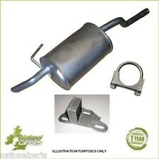 Renault Clio 1.2 Hatchback 98-06 Exhaust Rear Back Silencer box + Fitting Kit