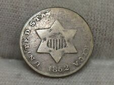 1852 3¢ Cent Silver. #58