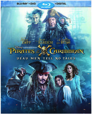 Pirates Of The Caribbean: Dead Men Tell No Tales [New Blu-ray] With DVD, Wides