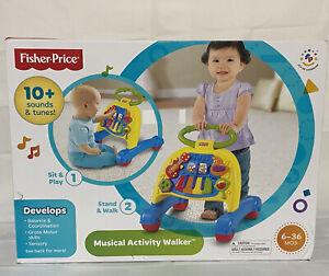 Fisher-Price Brilliant Basics Musical Activity Walker W