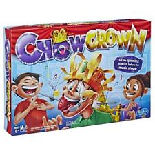 BRAND HASBRO NEW CHOWCROWN! EAT THE SPINNING SNACKS BEFORE THE MUSIC STOPS E2420