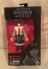 STAR WARS THE BLACK SERIES. 6? QI?RA (Corellia) #66 Hasbro. New In Box!