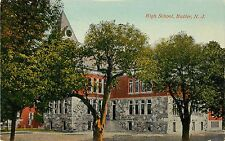A View of the High School, Butler NJ 1915